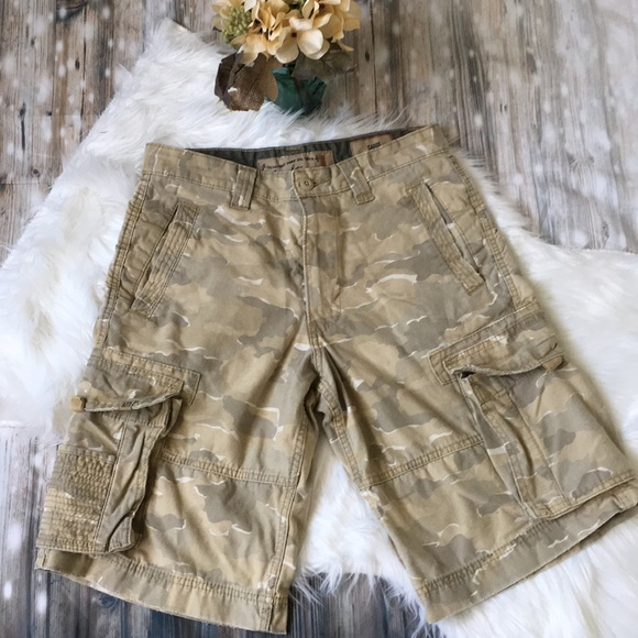 325e22b5 Levi's Shorts | Levi Strauss Camouflage Cargo | Poshmark